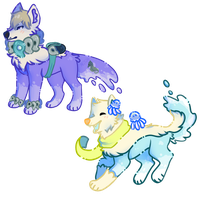 DMMD Waterdogs by lightninq