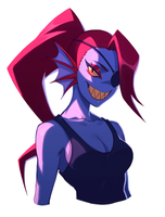 Undyne by liyart