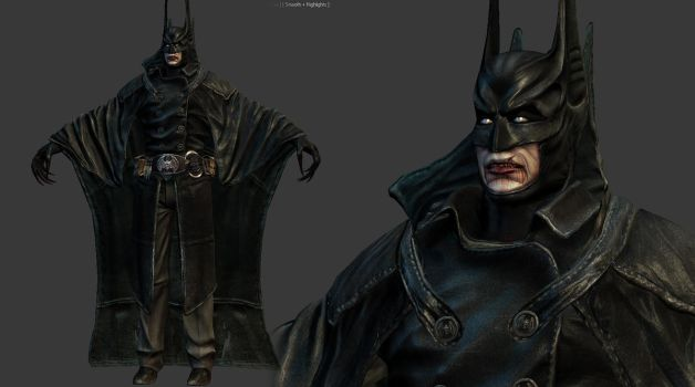 Vampire Batman by genci
