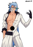 Request : Grimmjow Jaggerjack / Jeagerjaques by Skurpix
