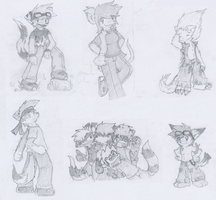 Pencil Drawings by RRRandomness