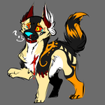 Sketchy Dog Adopt CLOSED by InfectedZombieX