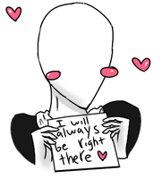 Slenderman's Love Note by Ramen11111