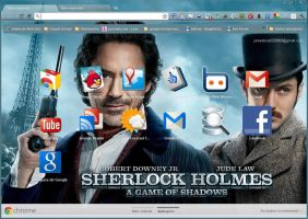 Sherlock Holmes - Game of  Shadows by SPCM2011