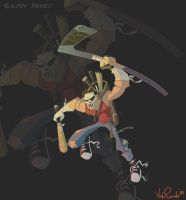 Casey Jones by KIRKparrish