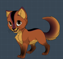 kit (mate is xavier) by XanderCakes