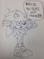 Sonic Boom Reactions: Sonic the Hedgehog by SpongeDudeCoolPants