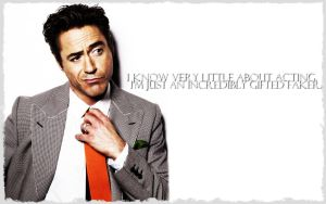 RDJ Wallpaper - Acting by ConceptJunkie124