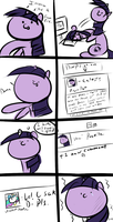 derp series 2: twilit makes a fanfic by imsokyo