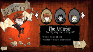 Don't Starve: Walter by punki123
