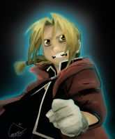 Edward Elric by Chromel