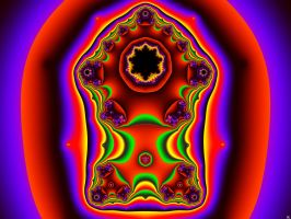 Colorful Portal by FractalMonster