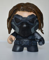 The Winter Soldier - Custom Munny by dcX1991