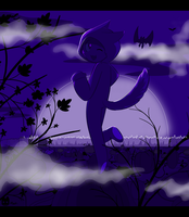 You Stupid Purple Picture by SmilehKitteh