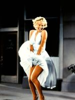 Marilyn-Monroes-white-halter-dress-from-The-Seven- by evantulac-123