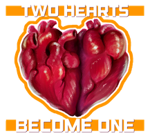 Happy Valentine's Day! - Two Hearts Become One by KrisRix