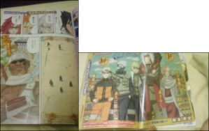 Naruto 410 spoil pic and cover by Thecmelion