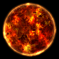 Burning Planet by Parad1gm