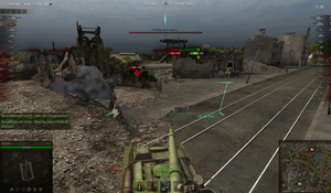 World of Tanks 'GIF arty bounce an IS' by Cippman