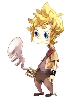 Roxas...toonified by kimchii