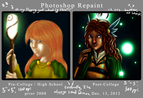 Photoshop Repaint by Oreramar
