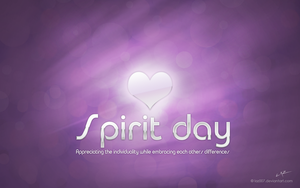 Spirit day wallpaper by laz007