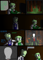 Slender Mini comic by DarkDivaLocura