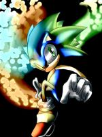 Sonic Colours by NobleExorcist