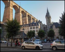 Morlaix, France. by sags