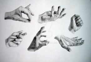 Hands by VitaG
