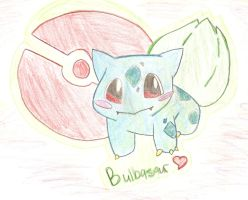 Bulbasaur by KitsPokePeople