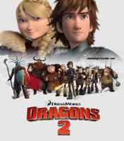 HTTYD 2 Poster by BAILEY2088