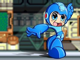 Mega Man Wallpaper 2 by SnafuDave