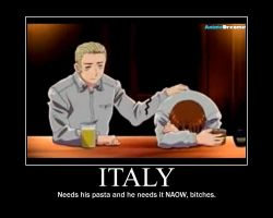 Italy Motivational Poster by Chakragirl15