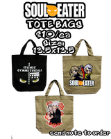 Soul Eater_ToteBags by wanabiEPICdesigns