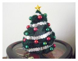 My tiny christmas tree by Dicita