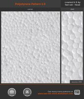 Polystyrene Pattern 1.0 by Sed-rah-Stock