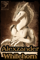 Badge Comish - Alexzander by TwilightSaint