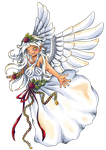 Angel (contest prize) by Pupuomena