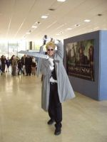 Anderson Hellsing Cosplay by Trixen
