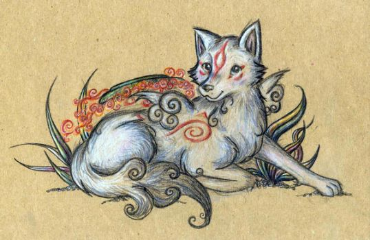 Brown Paper Ammy by Lilliflora