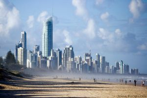 Gold Coast Skyline by automilo