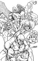 Original X-MEN Lines by VAXION