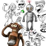 Dem Robots by JayPhilips