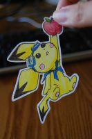Paperchildren_Pichu_Apple by mAgICALnIGHTSKy