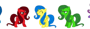 Fluttershy's emotions (Inside Out style) by FreshlyBaked2014