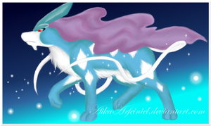 Collab - Suicune by Gabusin