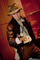 Indiana Jones by FallingFeathers