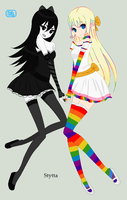 Colourful and Colourless by Stytta