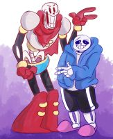Bone Bros by TheRealPennyLane